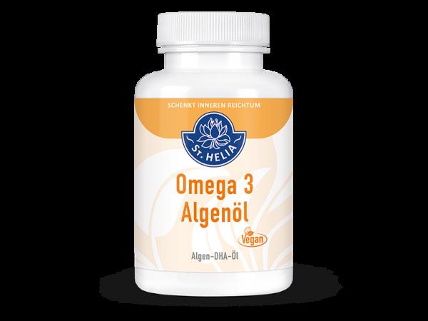 St. Helia Omega 3 Algenöl, 90 Kapseln, vegan