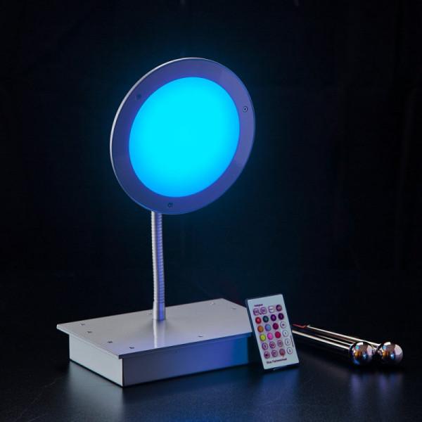 VISION-COLOUR Tischleuchte mit einem runden Leuchtkopf 150 mm