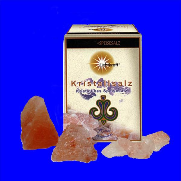 Kristallsalz, Grob (Brocken) zur Herstellung der Sole 1000g