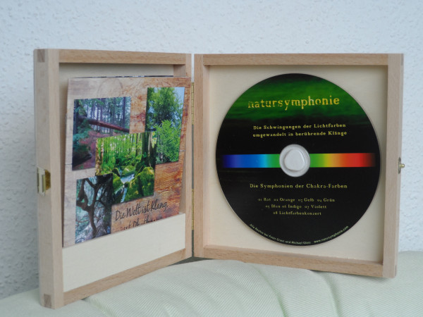 CD Lichtfarben-Symphonie Chakren (Sonderedition)