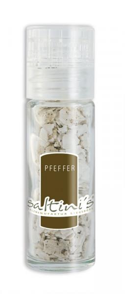 Taschenmühle mit 20g Saltini's Bio-Pfeffer