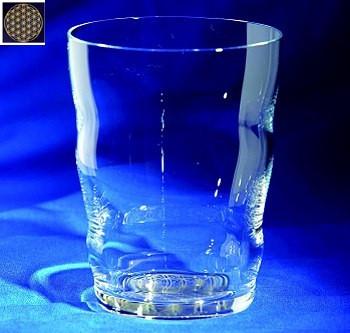 Trinkglas Golden Jasmina (mundgeblasen)