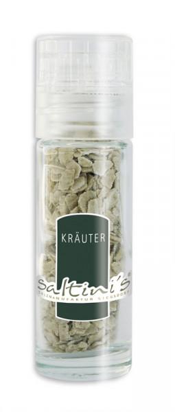 Taschenmühle mit 20g Saltini's Bio-Kräuter