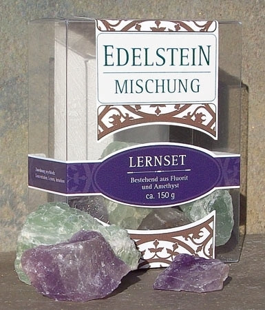 Edelstein-Lernset ca. 150g