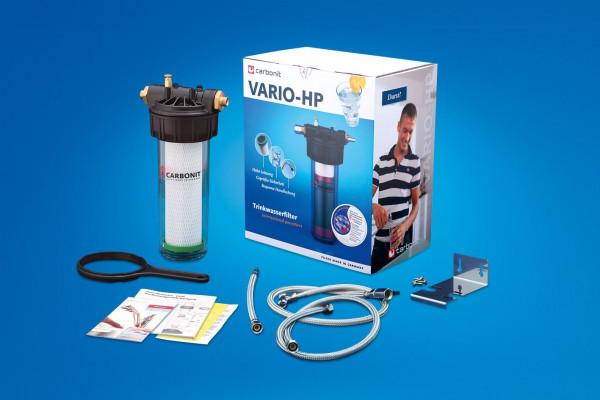 Carbonit Wasserfilter Vario Küche - Teileansicht -